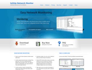 isitupnetworkmonitor.com screenshot