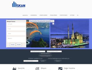 iskan.com.tr screenshot