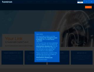 iskratel.com screenshot