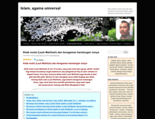 islamagamauniversal.wordpress.com screenshot