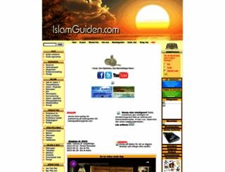 islamguiden.com screenshot