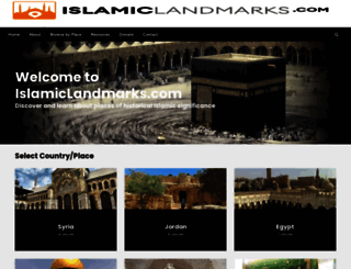 islamiclandmarks.com screenshot