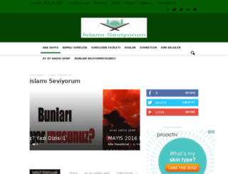 islamiseviyorum.com screenshot