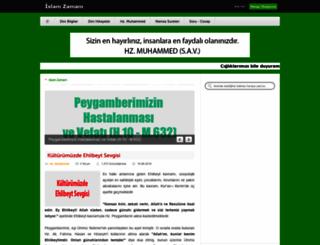 islamzamani.com screenshot
