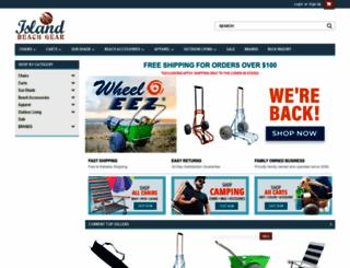 islandbeachgear.com screenshot