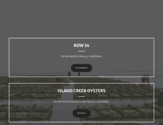 islandcreekoysterbar.com screenshot