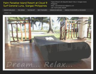 islanddreamsiargao.com screenshot