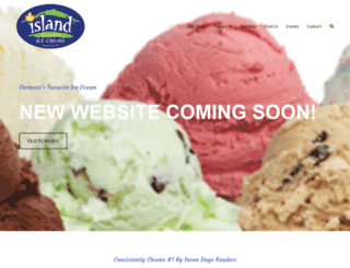 islandhomemadeicecream.com screenshot