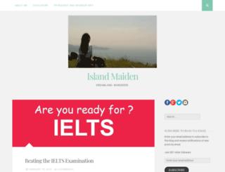 islandmaiden.wordpress.com screenshot