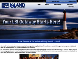 islandrealtylbi.com screenshot