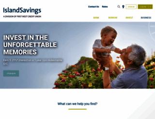islandsavings.ca screenshot