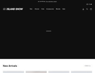islandsnow.com screenshot