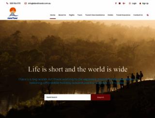 islandtravels.com.au screenshot