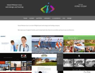 islandwebservices.co.uk screenshot