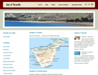 isle-of-tenerife.com screenshot