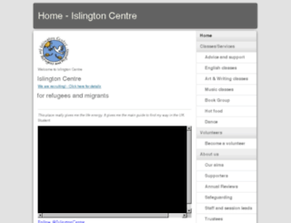 islingtoncentre.moonfruit.com screenshot