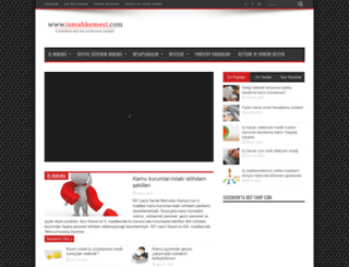 ismahkemesi.com screenshot