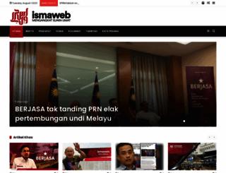 ismaweb.net screenshot