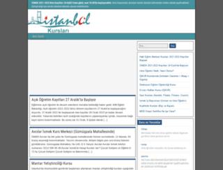 ismekkurs.com screenshot
