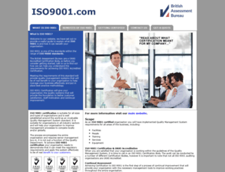 iso9001.com screenshot