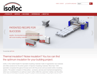isofloc.com screenshot
