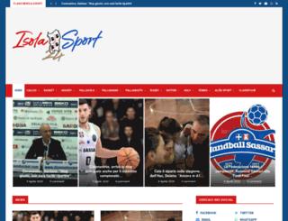 isola24sport.it screenshot