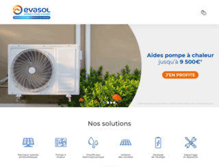 isolation-des-combles.evasol.fr screenshot
