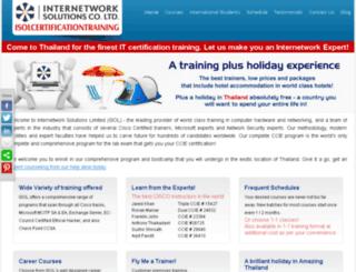 isolcertificationtraining.com screenshot