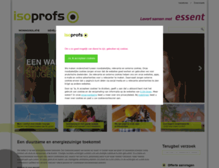 isoprofs.nl screenshot