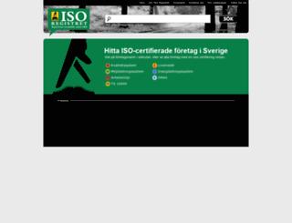 isoregistret.se screenshot
