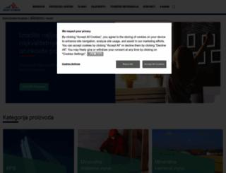 isover.hr screenshot