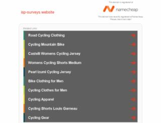 isp-surveys.website screenshot