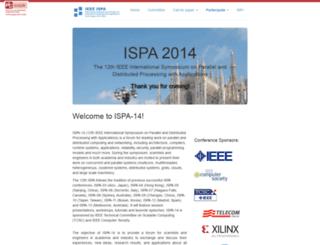ispa14.necst.it screenshot