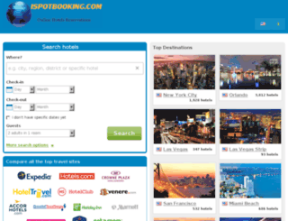 ispotbooking.com screenshot