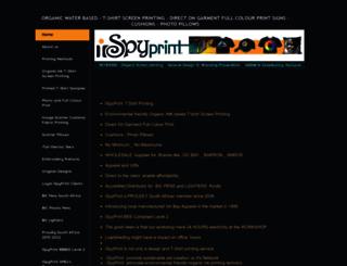 ispyprint.co.za screenshot
