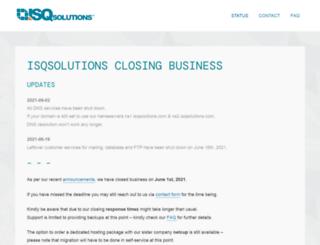 isqsolutions.com screenshot