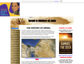 israel-a-history-of.com screenshot
