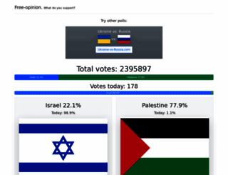 israel-vs-palestine.com screenshot