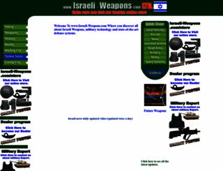 israeli-weapons.com screenshot