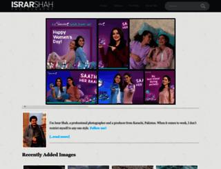 israrshah.com screenshot