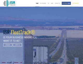 isrfleettrack.com screenshot