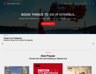 istanbul.com screenshot