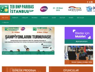 istanbulcup.com screenshot