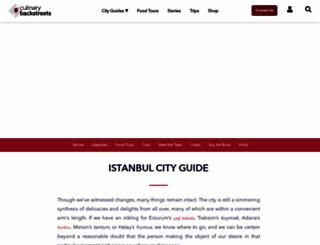 istanbuleats.com screenshot
