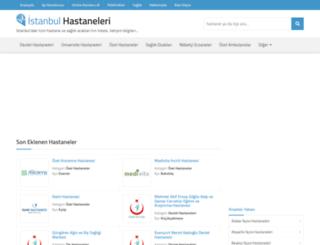 istanbulhastaneleri.net screenshot