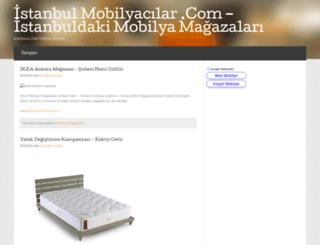 istanbulmobilyacilar.com screenshot