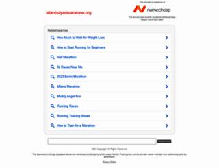 istanbulyarimaratonu.org screenshot