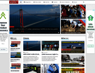 istecanakkalegazetesi.com screenshot