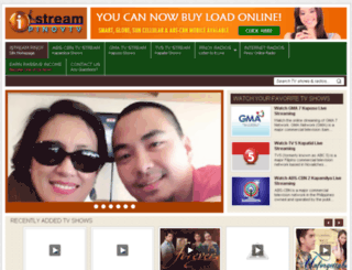istreampinoy.blogspot.com screenshot