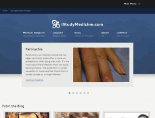 istudymedicine.com screenshot